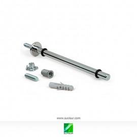 Porta-repisa tubular 150 mm