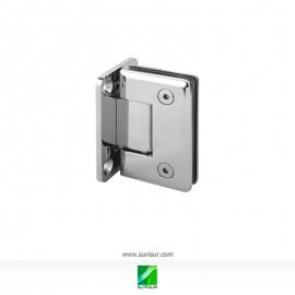 Bisagra simple pared-vidrio 90º 8-10 mm