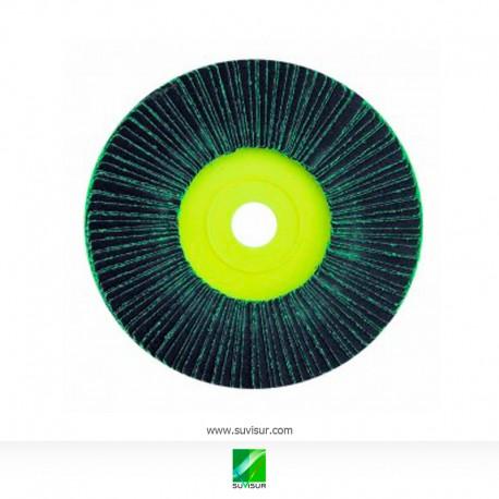 Disco amarillo lamina verde