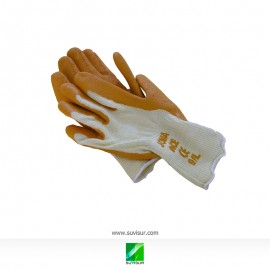 Guantes Latex Naranja
